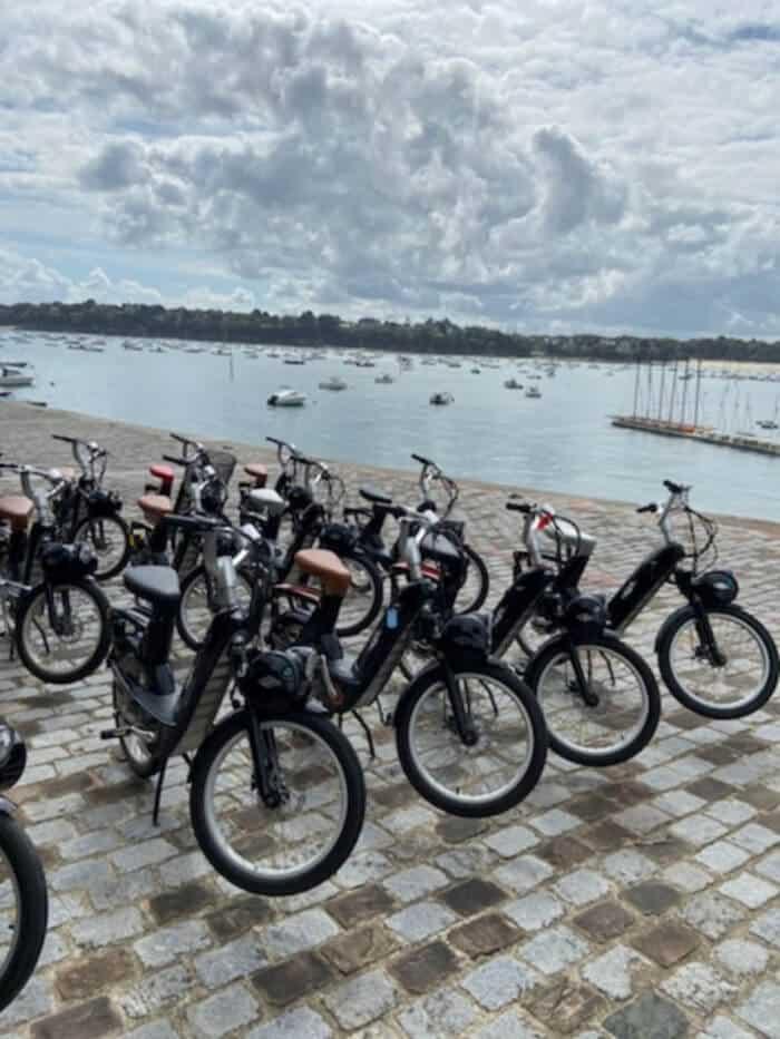 Rallye découverte E-Solex à Brest Finistère