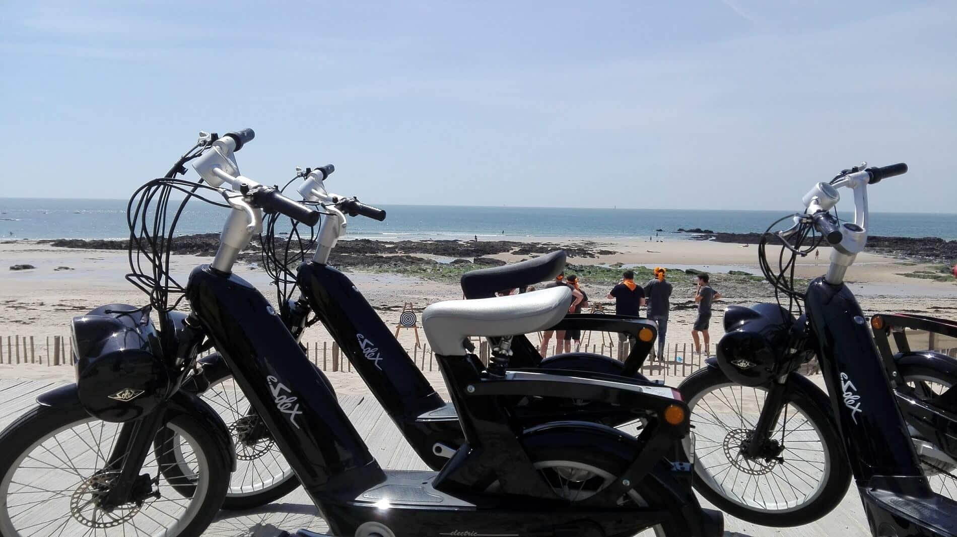 Rallye E-Solex à la Baule avec OBH EVENEMENT