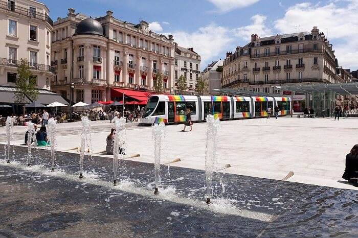 Rallye E-Solex à Angers avec OBH EVENEMENT