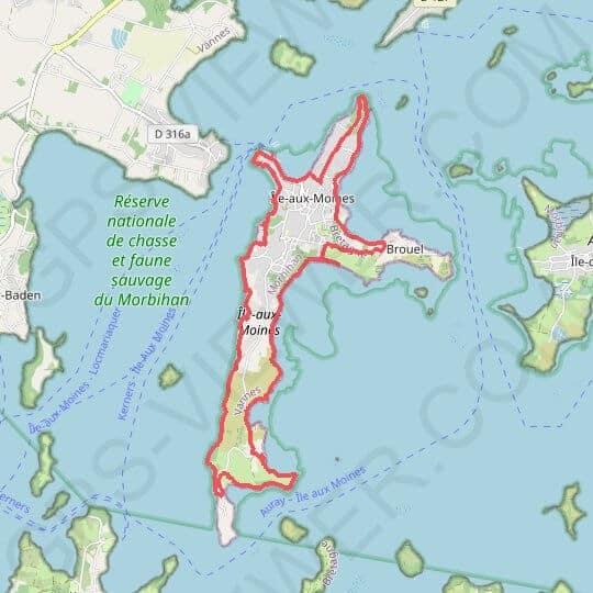 Séminaire et challenge d'entreprise à vélo sur l'île aux Moines dans le Golfe du Morbihan