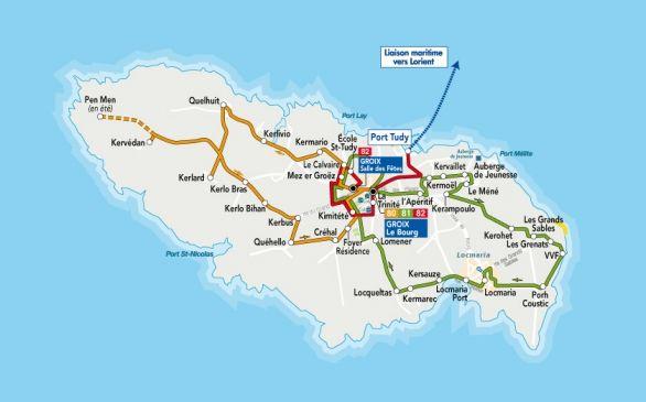Séminaire et challenge d'entreprise à pied sur l'île de Groix dans le Morbihan