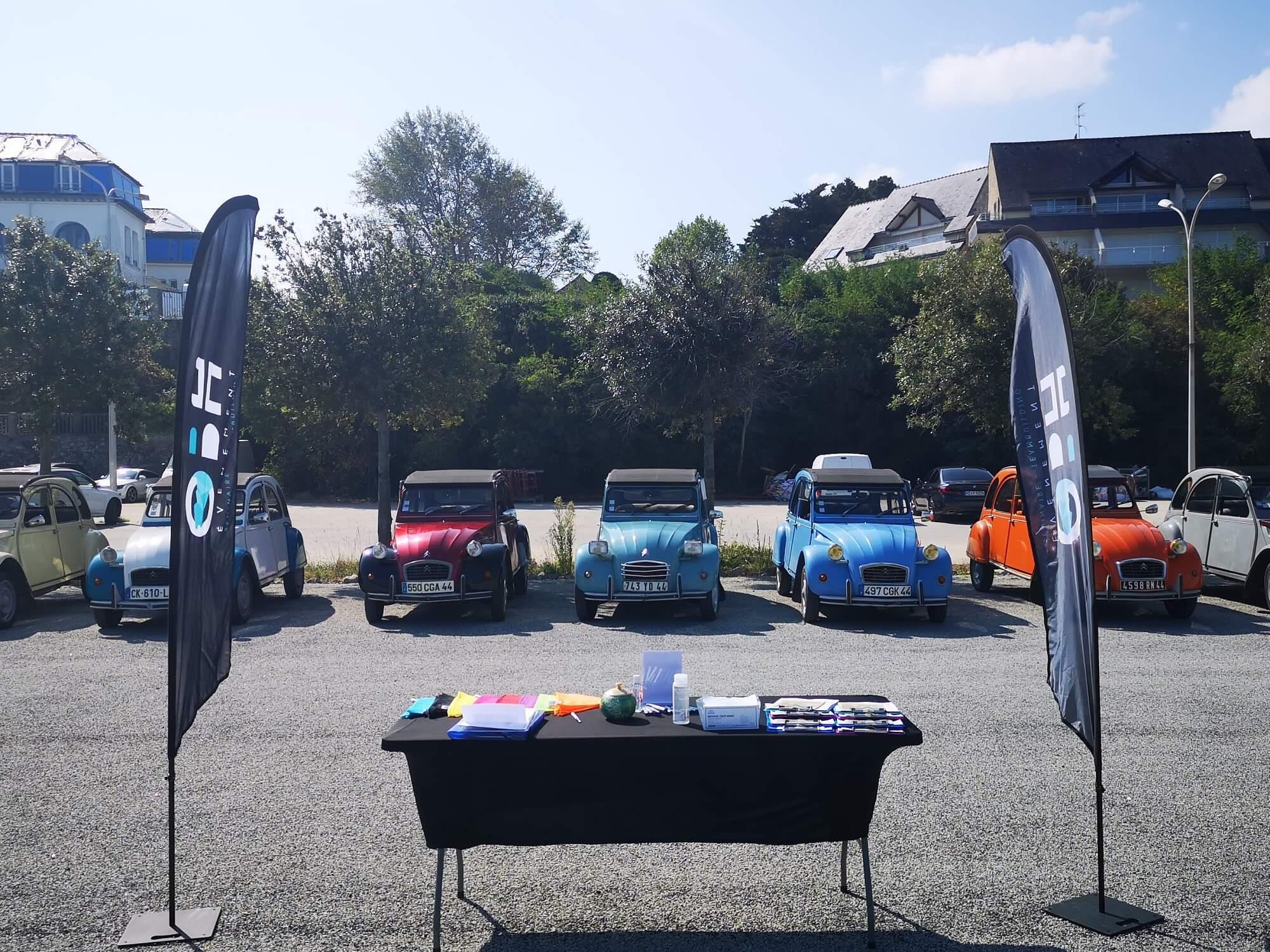 Rallye 2CV à Vannes avec OBH EVENEMENT