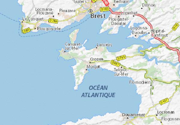Rallye 2CV à la Presqu'ile de Crozon dans le Finistèreavec OBH EVENEMENT