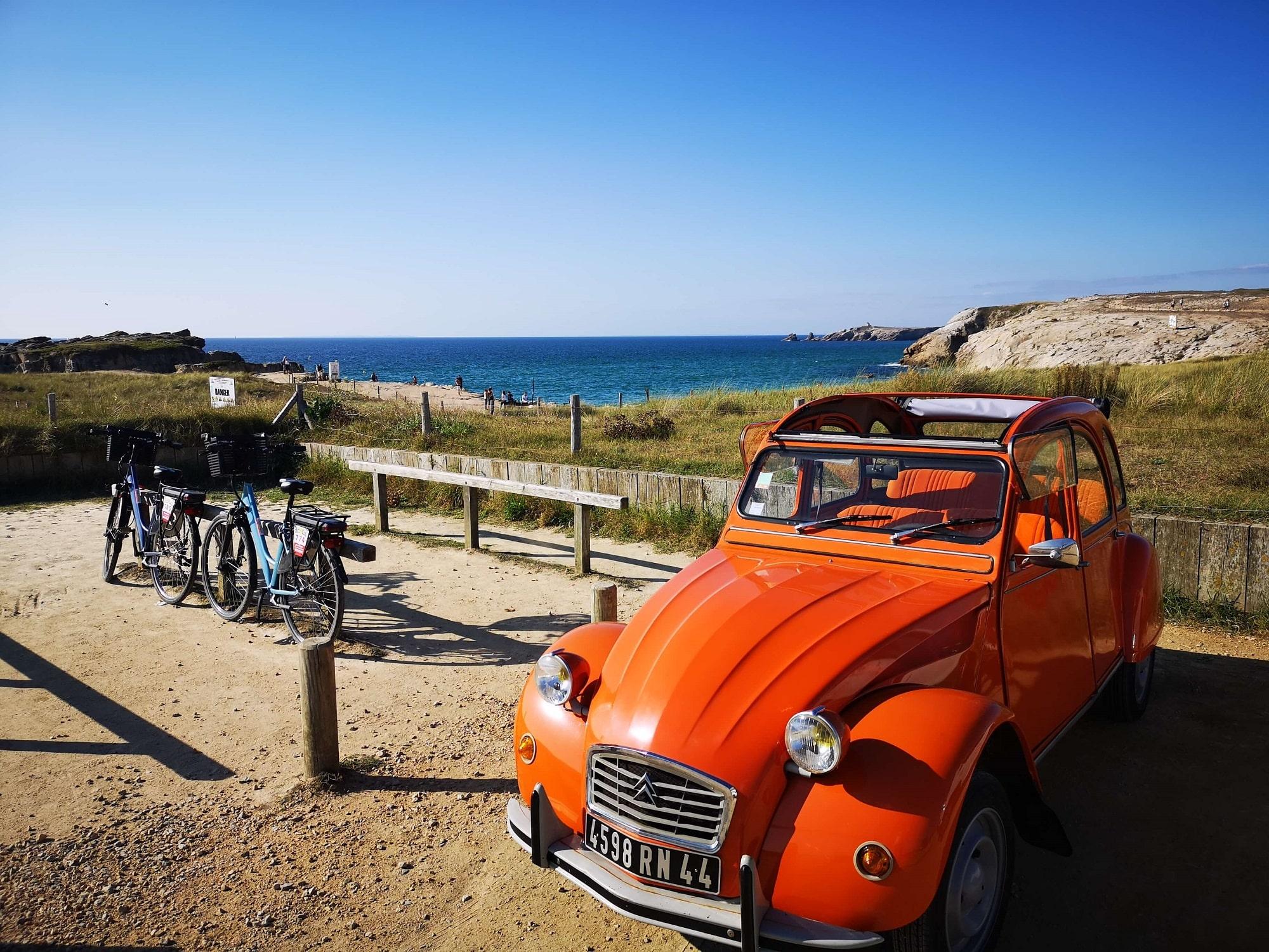 Rallye 2CV à la Presqu'ile de Crozon avec OBH EVENEMENT